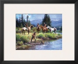 The River's Gift Poster by Martin Grelle