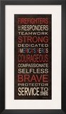 Firefighters Prints by Kathy Middlebrook