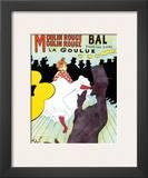 Moulin Rouge, c.1891 Art by Henri de Toulouse-Lautrec