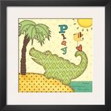 Gator Posters by Jo Moulton