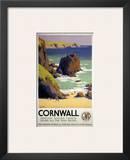 Cornwall Rocky Beach Prints