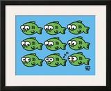 Fish Fart Prints by Todd Goldman