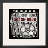 Stage Door Posters by Conrad Knutsen