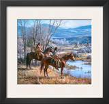 Apsaalooke Sentinel Prints by Martin Grelle