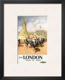 Visit London Travel by Train Posters