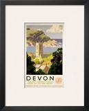 Devon, GWR, c.1930s Art