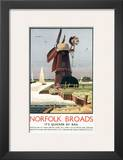 Norfolk Broads Windmill Posters
