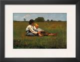 Boys in a Pasture, 1874 Print by Winslow Homer