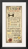 Dog Wisdom Prints by Jo Moulton