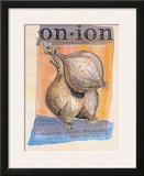Onion Prints by Fred Hill
