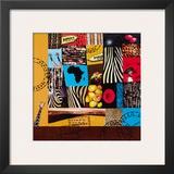 African World Print by Sophie Wozniak
