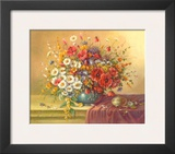 Summer Bouquet Posters by Corrado Pila