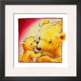 Mother Bear's Love III Prints by  Makiko