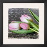 Poetry Tulips Posters by Andrea Haase