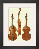 Antique Violas II Poster by William Gibb