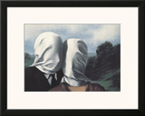 Les Amants (Lovers) Posters by Rene Magritte