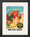 Bryce Canyon, Union Pacific Railroad c.1935 Prints