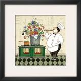 Chef Soup Prints by Pamela Gladding