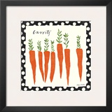 Simple Carrots Prints by Susy Pilgrim Waters