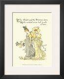 Shakespeare's Garden XI (Violet & Primrose) Prints by Walter Crane