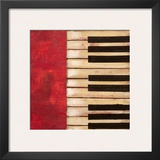 Piano Keys Posters by  Hakimipour-ritter