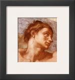 Sistine Chapel-Adam Poster by  Michelangelo Buonarroti