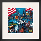 Times Square 5th Avenue Art by Sophie Wozniak