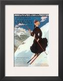 Chamonix, Sports d`Hiver Posters by Abel Faivre