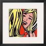 Girl in Mirror, c.1963 Prints by Roy Lichtenstein
