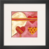 Pop Hearts I Posters by Nancy Slocum