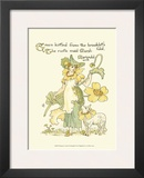 Shakespeare's Garden IX (Marigold) Poster by Walter Crane
