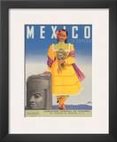 Mexico le Espera, c.1953 Posters by German Horacio