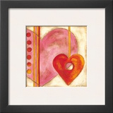 Pop Hearts III Art by Nancy Slocum