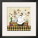 Chef Pastry Print by Pamela Gladding