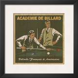 Academie de Billard I Print by Philippe David