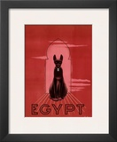 Egypt Black Cat c.1947 Prints