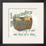 Laundry Room I Prints by Debbie DeWitt