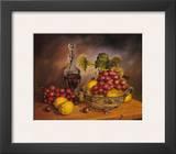 Grapes Display Prints by J.R. Insaurralde