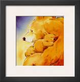 Mother Bear's Love I Posters by  Makiko