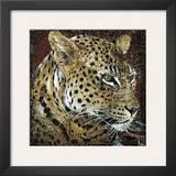 Leopard Portrait Print by Fabienne Arietti