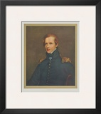 Portrait : Major John Biddle Poster by Thomas Sully