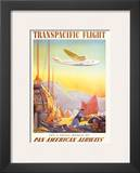 Pan American: Transpacific Flight, c.1940s Posters by Paul George Lawler