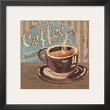 Coffee Brew Sign I Prints by Paul Brent