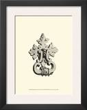 Wrought Iron Door Knocker II Print