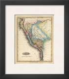 Peru, c.1823 Posters by Fielding Lucas