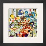 Happy Snappy Garden Prints by Joan Elan Davis