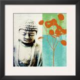 Buddha II Prints by Linda Woods