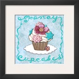 Fancy Cupcakes Prints by Janet Kruskamp