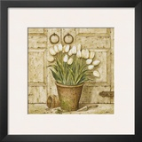 Potted Tulips I Prints by Eric Barjot