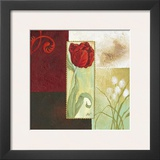 Tulip Square I Prints by Maria Woods
